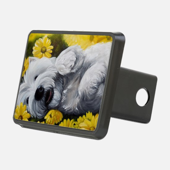 Cute West highland terrier Hitch Cover