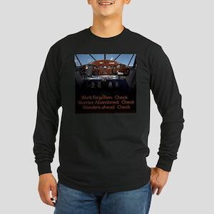 Dashboard Long Sleeve Dark T-Shirt