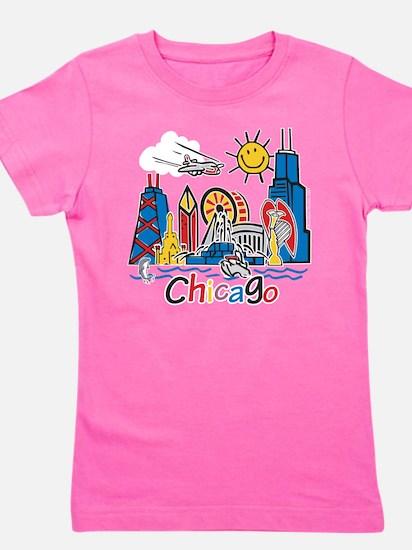 Cute Chicago Girl's Tee