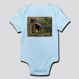 Cabin on Wood Body Suit