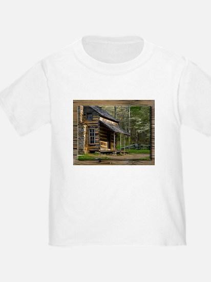 Cabin on Wood T-Shirt