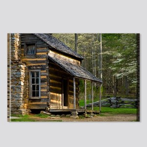 Cabin on Wood Postcards (Package of 8)