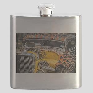 Flamed Beast Flask