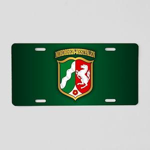 Nordrhein Westfalen Aluminum License Plate