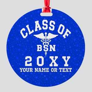 Class of 20?? Nursing (BSN) Round Ornament