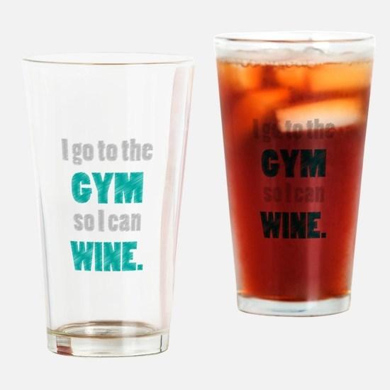 Cute Gym Drinking Glass