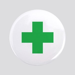 Green Cross Button