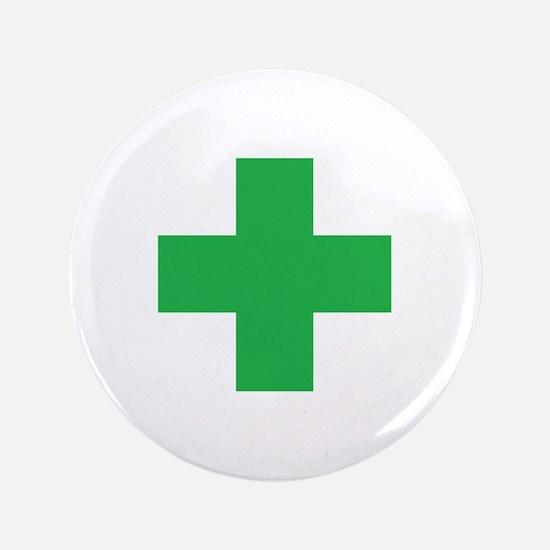 Green Cross Button