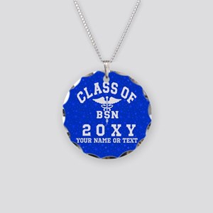 Class of 20?? Nursing (BSN) Necklace Circle Charm