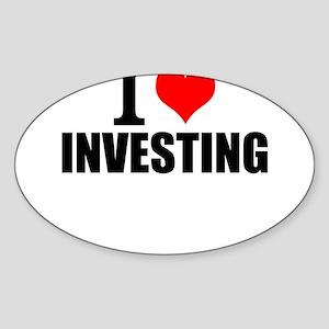 I Love Investing Sticker