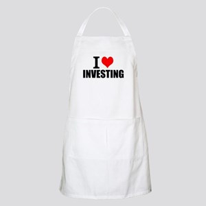I Love Investing Light Apron