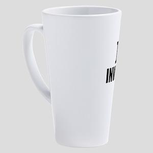 I Love Investing 17 oz Latte Mug