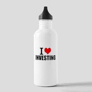 I Love Investing Water Bottle