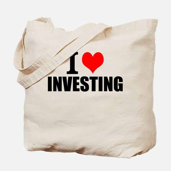 I Love Investing Tote Bag