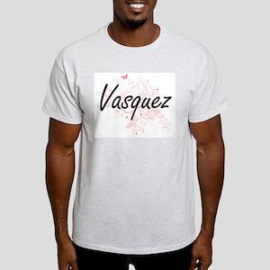 Vasquez surname artistic design with Butte T-Shirt