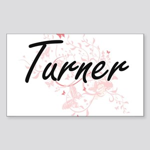 Turner surname artistic design with Butter Sticker