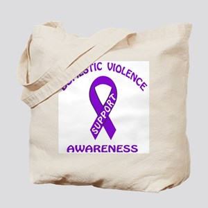 The final Domestic Violence Awareness Tote Bag