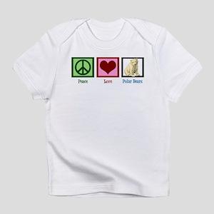 Peace Love Polar Bears Infant T-Shirt