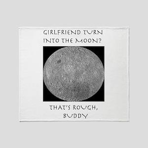 Moonshirt5 Throw Blanket