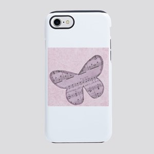 Pink Butterfly iPhone 8/7 Tough Case