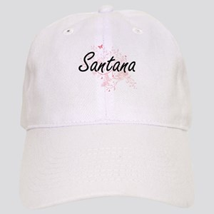 Santana surname artistic design with Butterfli Cap