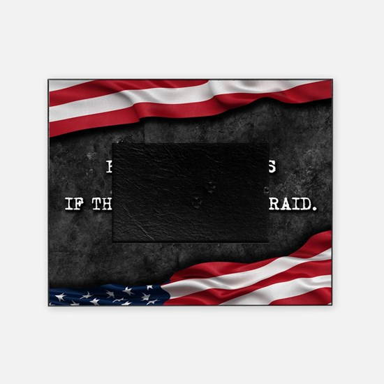Cool Proud american Picture Frame
