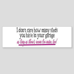 Room for Mine? Bumper Sticker