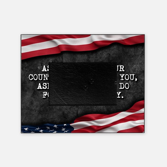 Funny Proud american Picture Frame