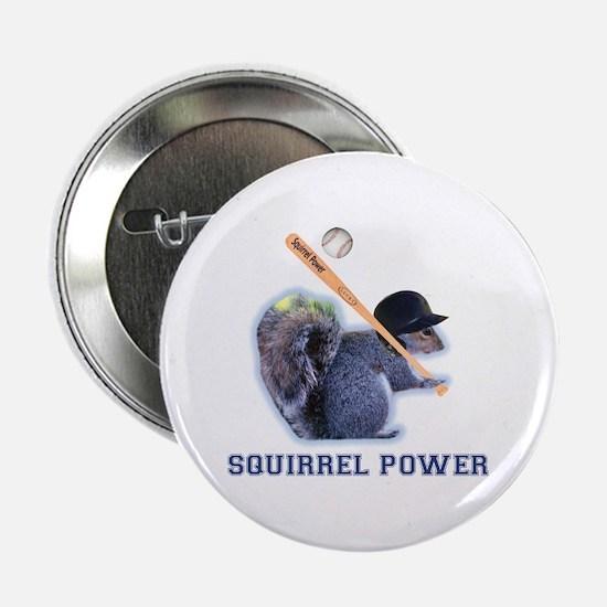 """Squirrel Power 2.25"""" Button"""