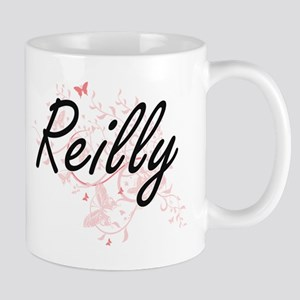 Reilly surname artistic design with Butterfli Mugs