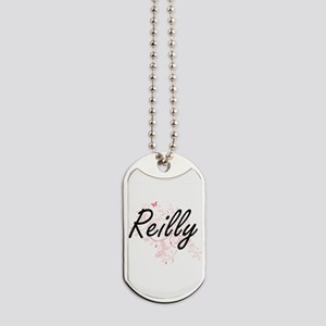 Reilly surname artistic design with Butte Dog Tags