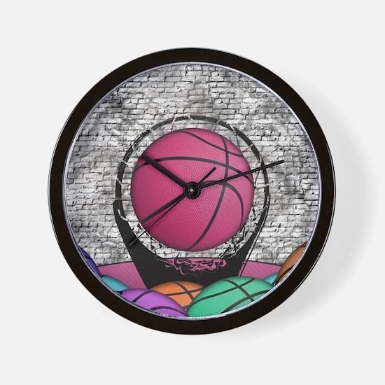 Cute Court sports Wall Clock
