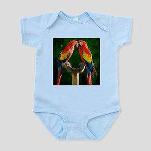 Beautiful Parrots Body Suit