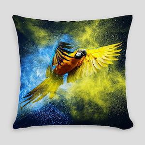 Beautiful Parrot Everyday Pillow