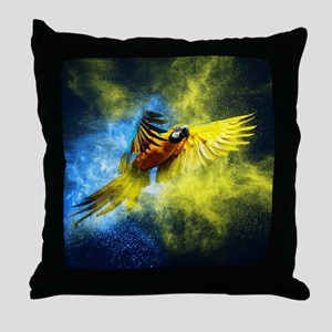 Beautiful Parrot Throw Pillow