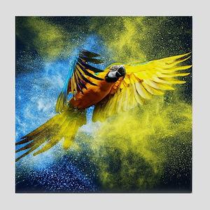 Beautiful Parrot Tile Coaster