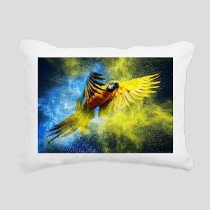 Beautiful Parrot Rectangular Canvas Pillow