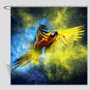 Beautiful Parrot Shower Curtain