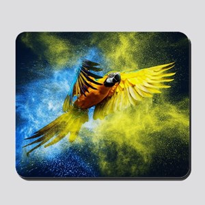 Beautiful Parrot Mousepad