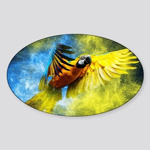 Beautiful Parrot Sticker