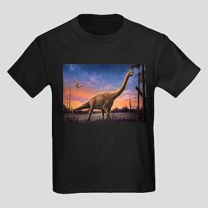 Jurassic Dinosaurs Kids Dark T-Shirt
