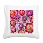 My Love (Mi Amor) Square Canvas Pillow