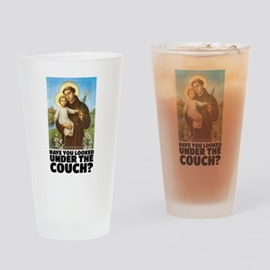 St. Anthony Religious Humor Drinking Glass