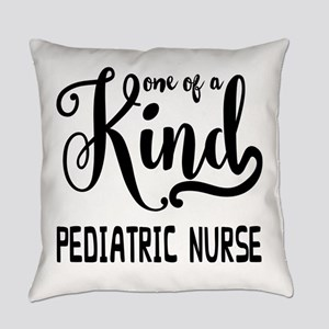 One of a Kind Pediatric Nurse Everyday Pillow
