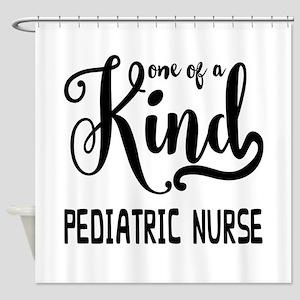 One of a Kind Pediatric Nurse Shower Curtain