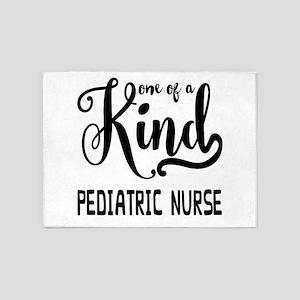 One of a Kind Pediatric Nurse 5'x7'Area Rug