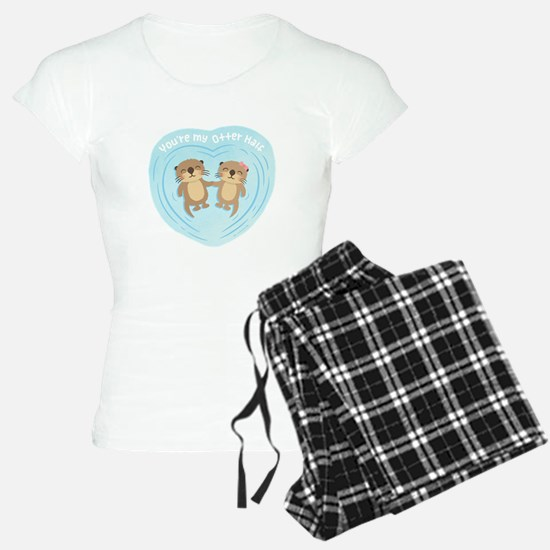 You are my otter half love pun humor Pajamas