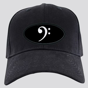 Bass Clef Black Cap