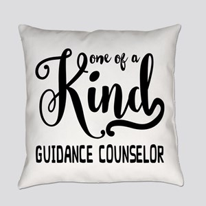 One of a Kind Guidance Counselor Everyday Pillow
