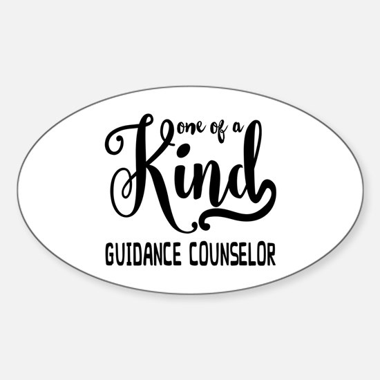 One of a Kind Guidance Counselor Sticker (Oval)